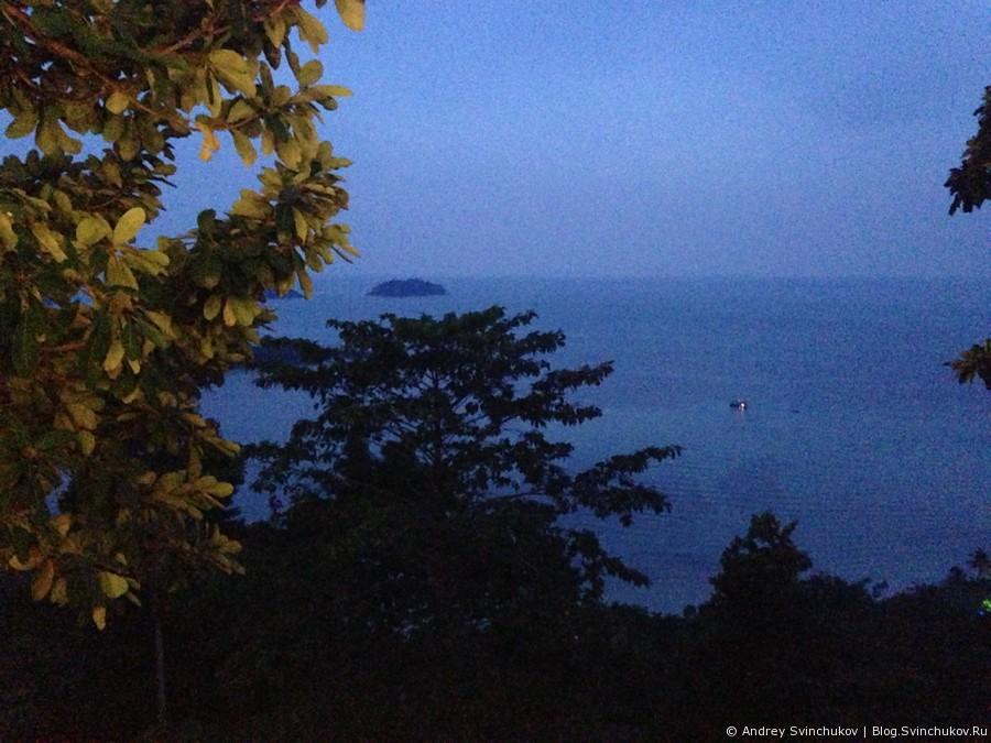 Ресторан отеля Sea View на острове Ко-Чанг в Таиланде