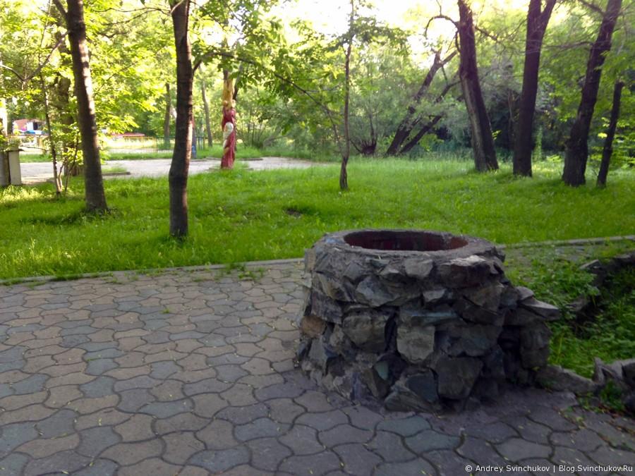 Старый парк в Уссурийске