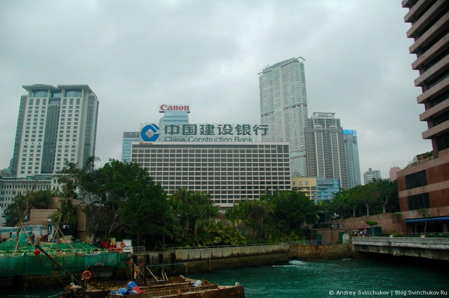 Гонконг. Аллея звезд