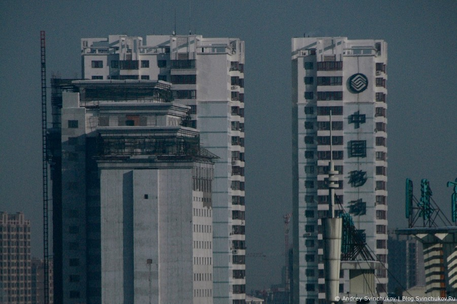 Китайский город Цзямусы
