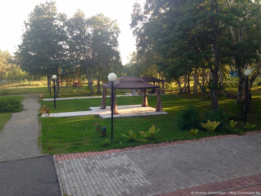 Гостиница Бел-Кам-Тур на Камчатке