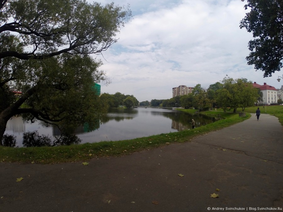 Калининград. Прогулка вдоль озер