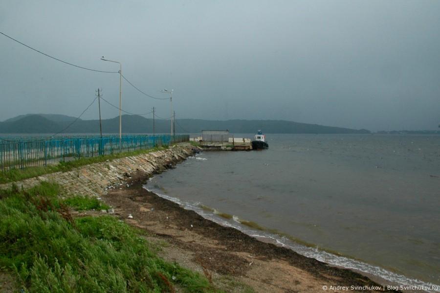 Поездка по острову Русскому