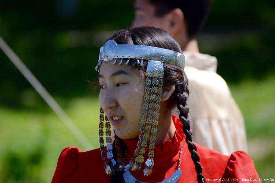 Якутский национальный праздник встречи лета Ысыах в Хабаровске