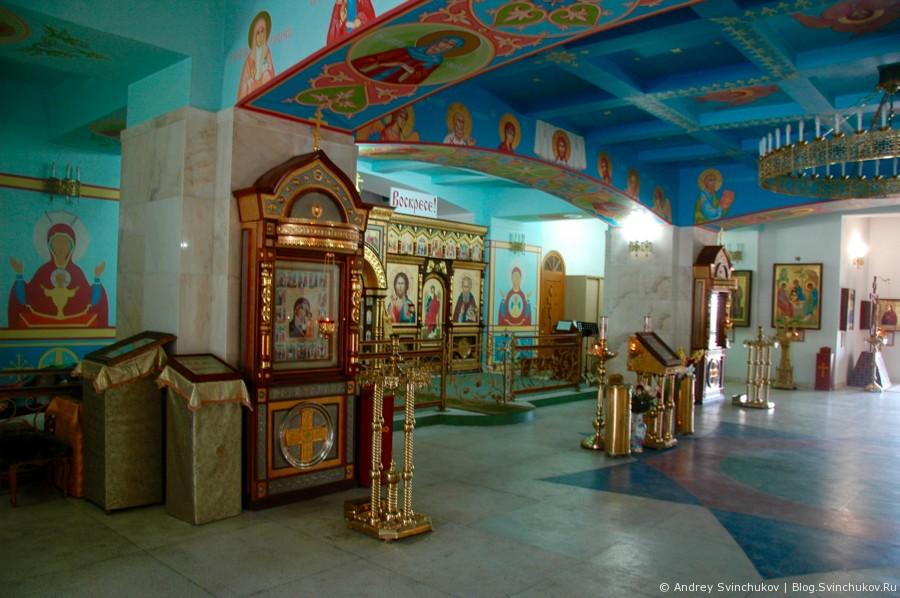 Храм в городе Находка