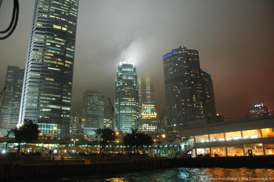 Вечерний Гонконг горизонтальный