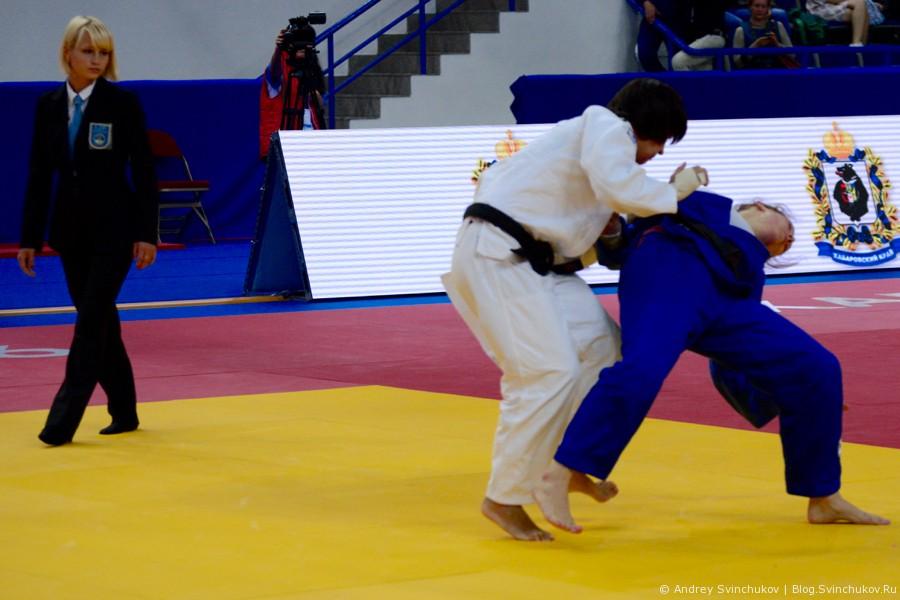 Чемпионат России по дзюдо в Хабаровске