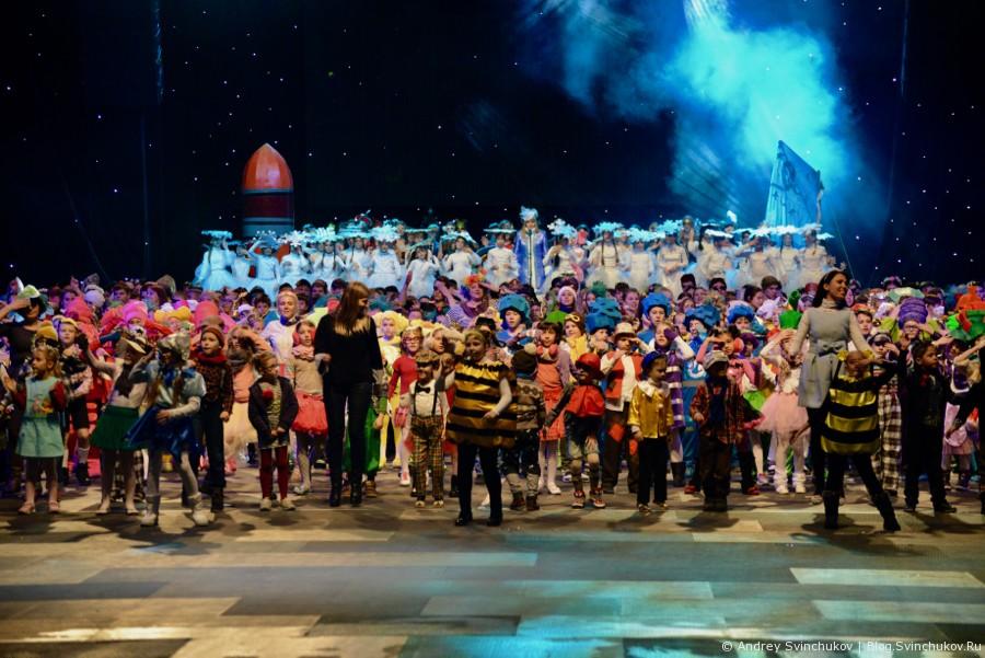 Фоторассказ о новой Новогодней сказке от Краевого центра образования