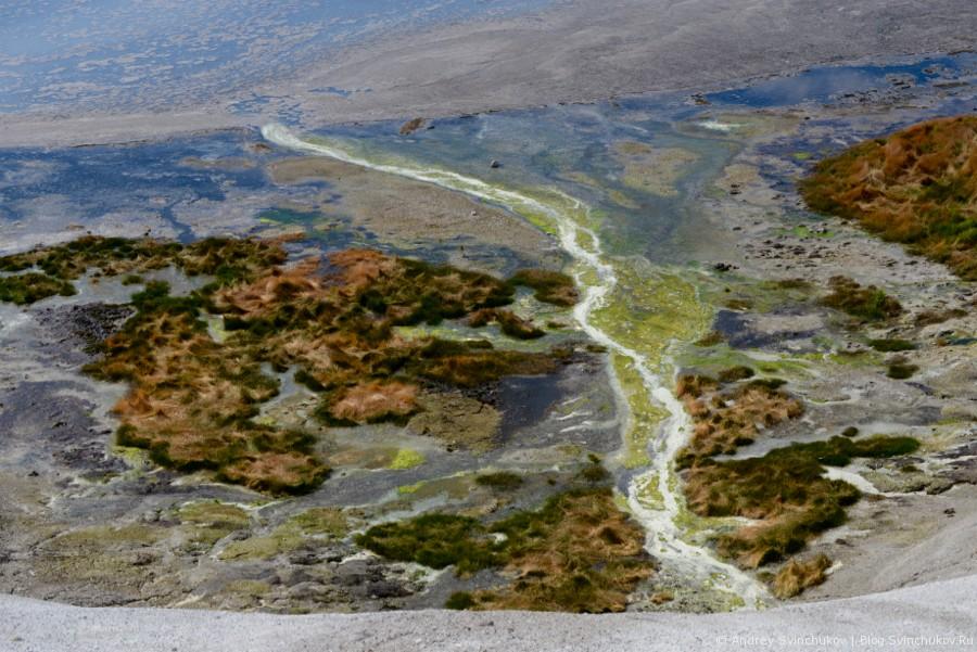 Камчатка. В кальдере вулкана Узон