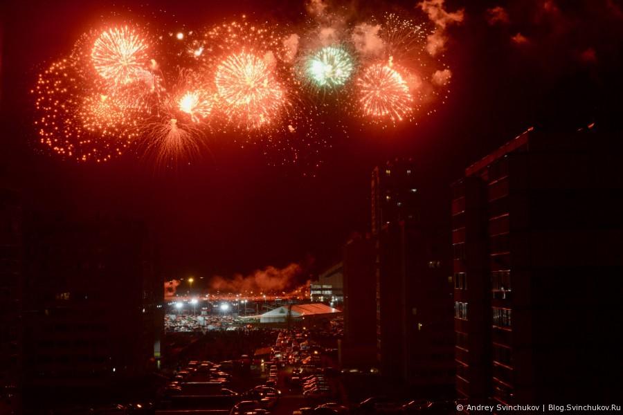 Салют Победы в Хабаровске