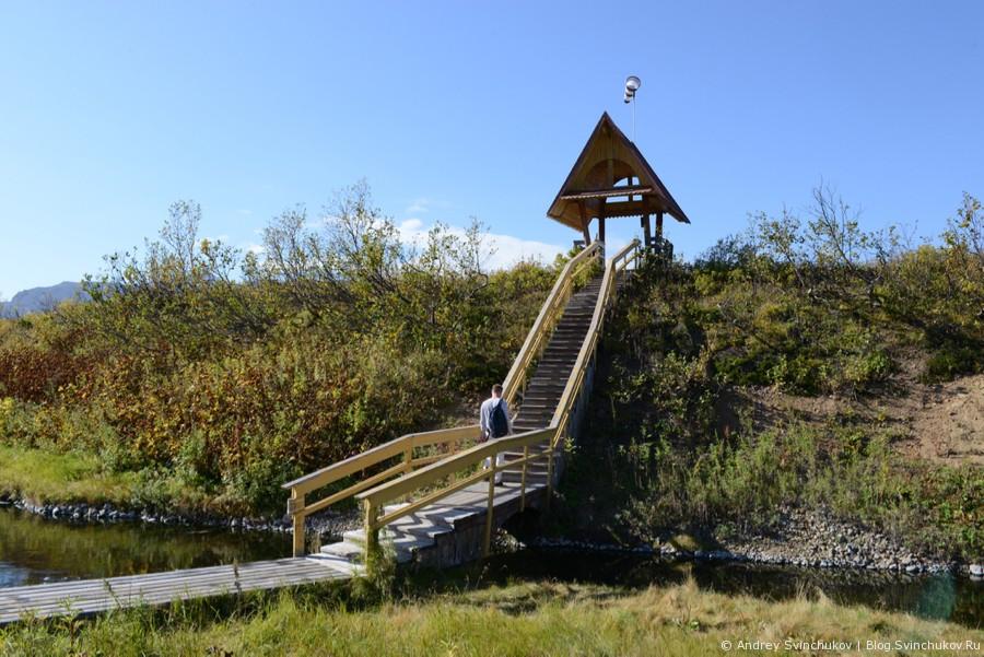 Налычевские горячие источники на Камчатке