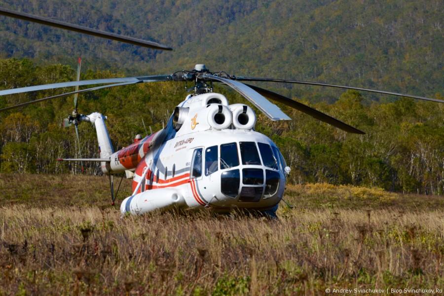 Камчатка. Вертолеты