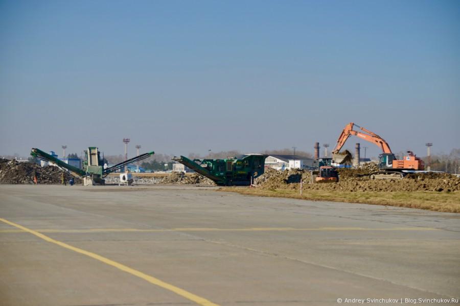 Хабаровский аэропорт. Реконструкция ВПП