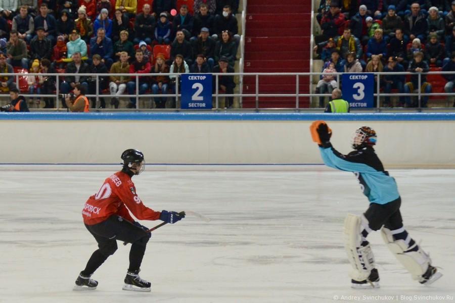 Финальный матч за Кубок России по хоккею с мячом - 2017