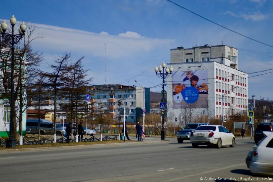 Город Магадан весной 2016-го