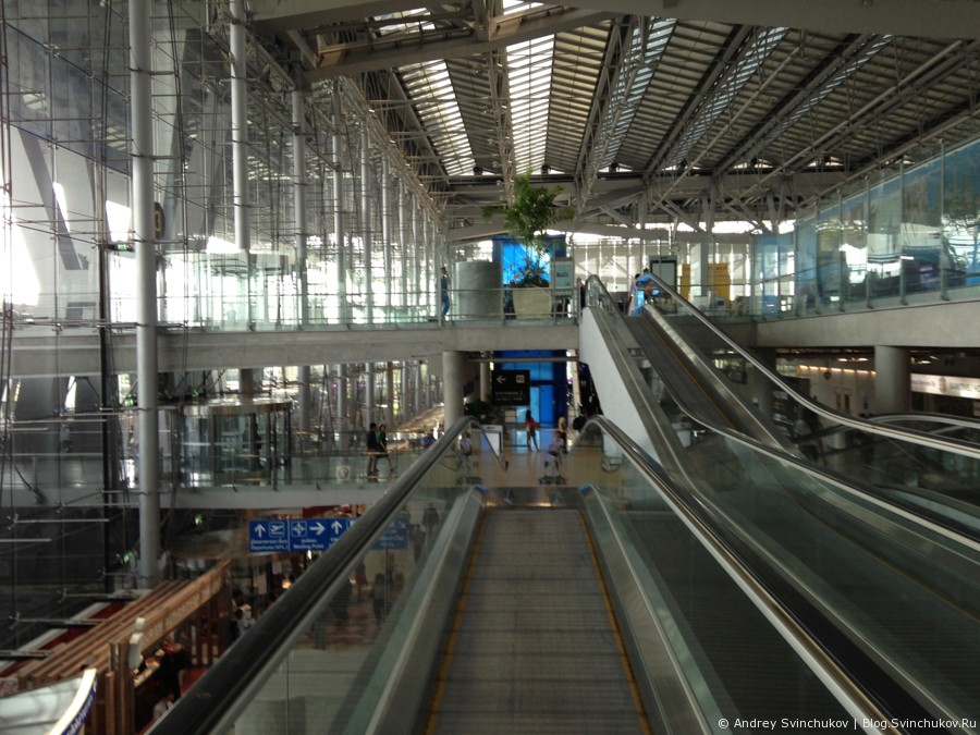 Аэропорт Бангкока Суварнабхуми (Suvarnabhumi)