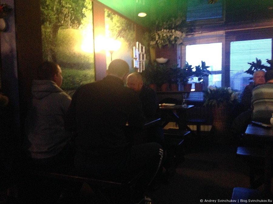 Кафе Баварский сад в Хабаровске