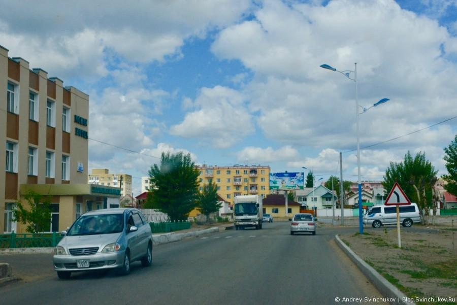 Первые километры по Монголии и Сухэ-Батор