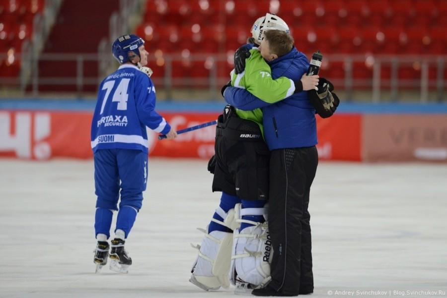 Чемпионат мира по хоккею с мячом — 2018. Матч за 3-5 место Финляндия - Казахстан