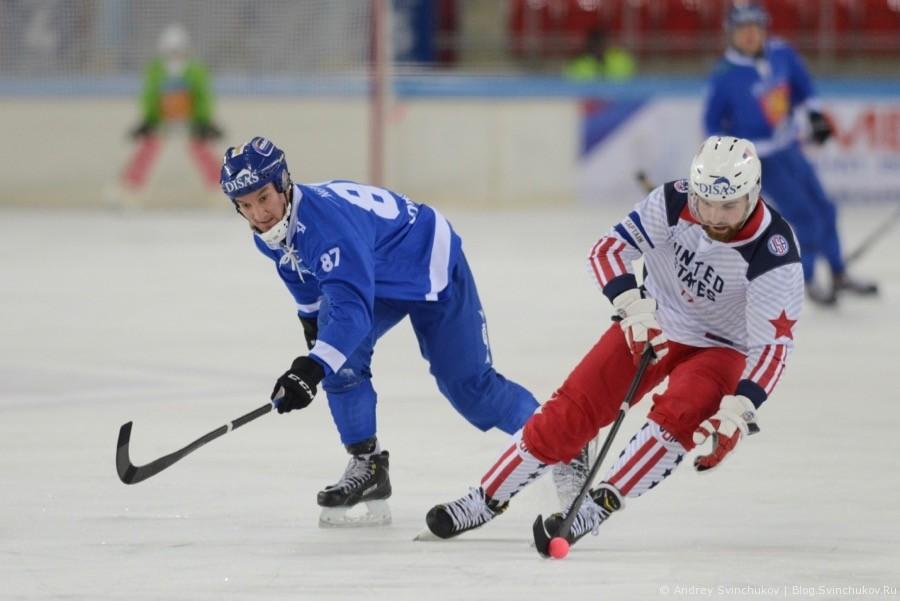 Чемпионат мира по хоккею с мячом — 2018. Матч Финляндия - США