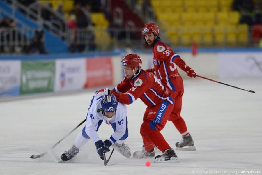 Чемпионат мира по хоккею с мячом — 2018. Полуфинальный матч Россия - Финляндия