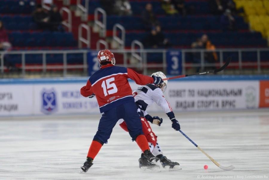 Чемпионат мира по хоккею с мячом — 2018. Матч за 5-е место - США - Норвегия