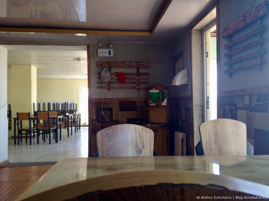 В монгольском кафе Буузандаа