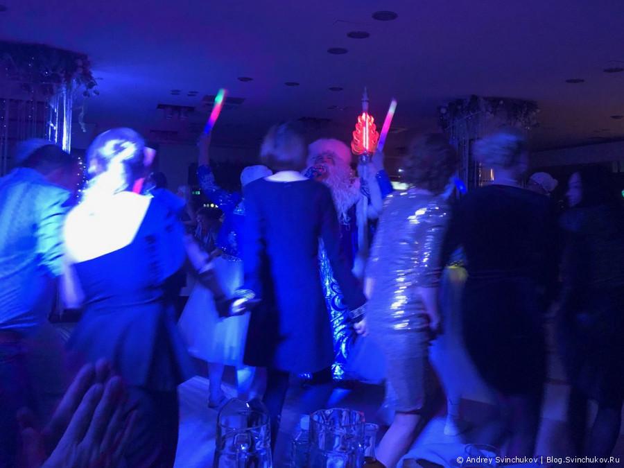 Встреча наступающего Нового года в Хабаровске