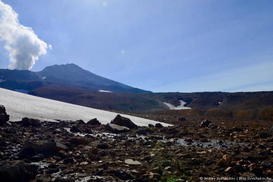 Камчатка. Восхождение на вулкан Мутновский