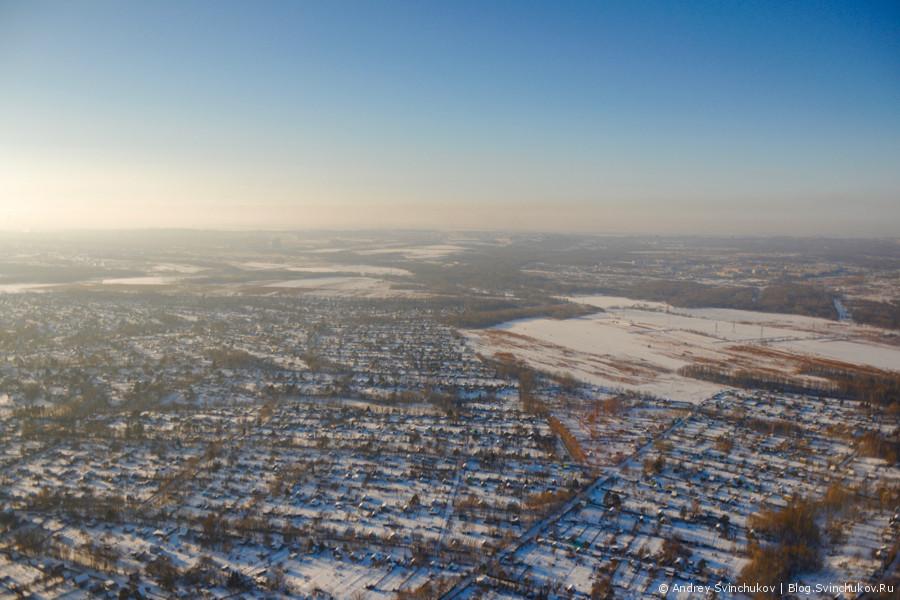 Полёт в город Комсомольск-на-Амуре