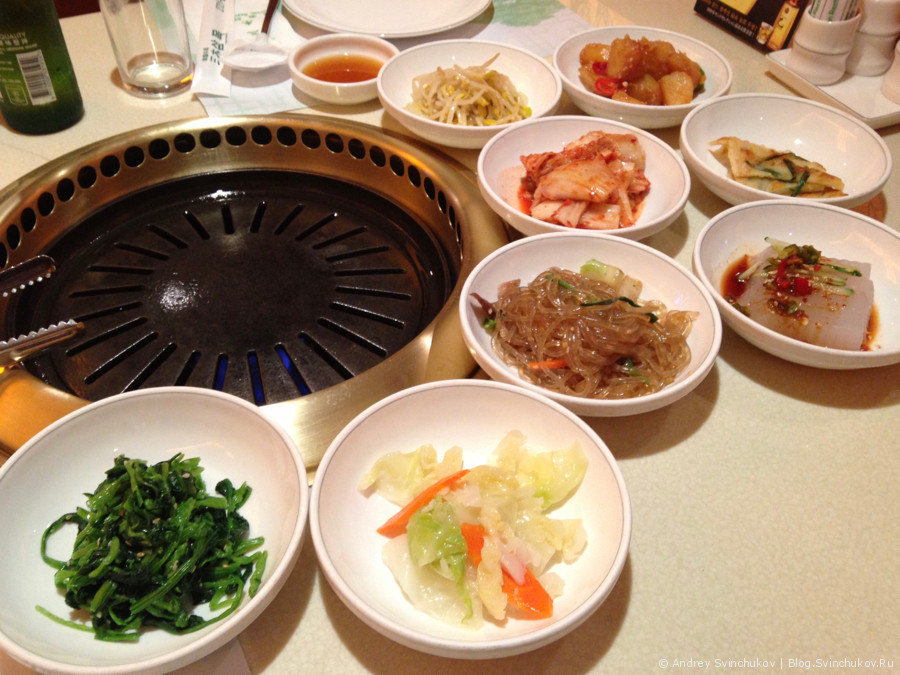 Корейский ресторан а Гонконге