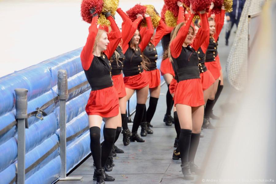 """Второй четвертьфинальный матч """"СКА-Нефтяник"""" - """"Кузбасс"""""""