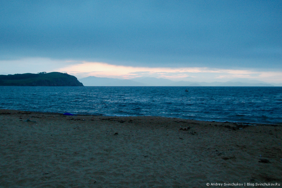 Остров Путятин. Восход солнца.