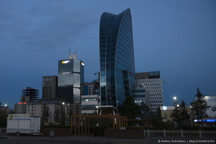 Монголия. Вечерний Улан-Батор