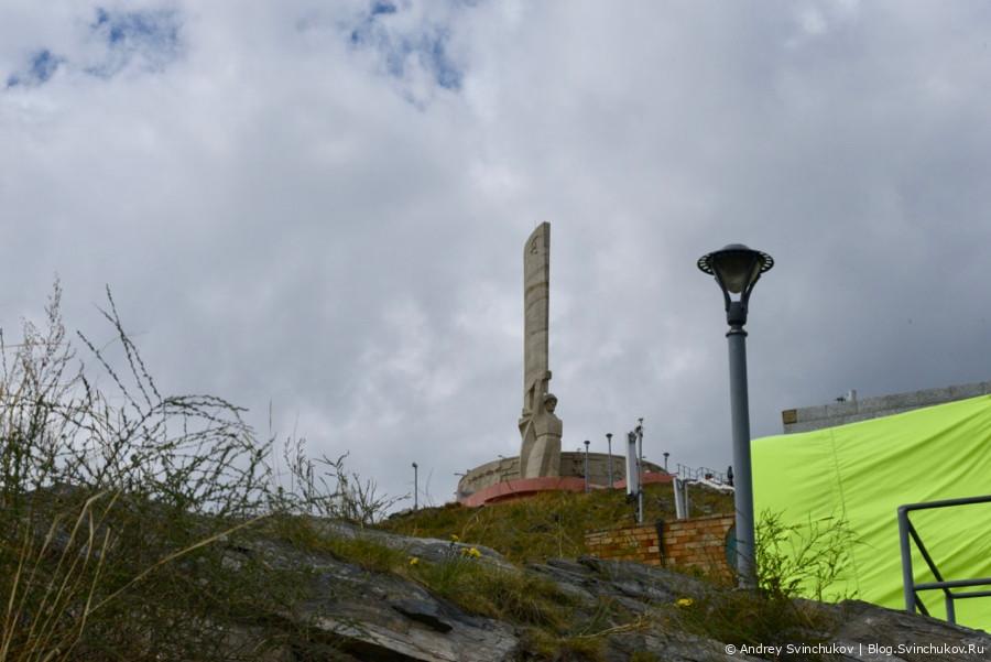 Монголия. Мемориал в память советских воинов на За́йсан-Толгое в Улан-Баторе