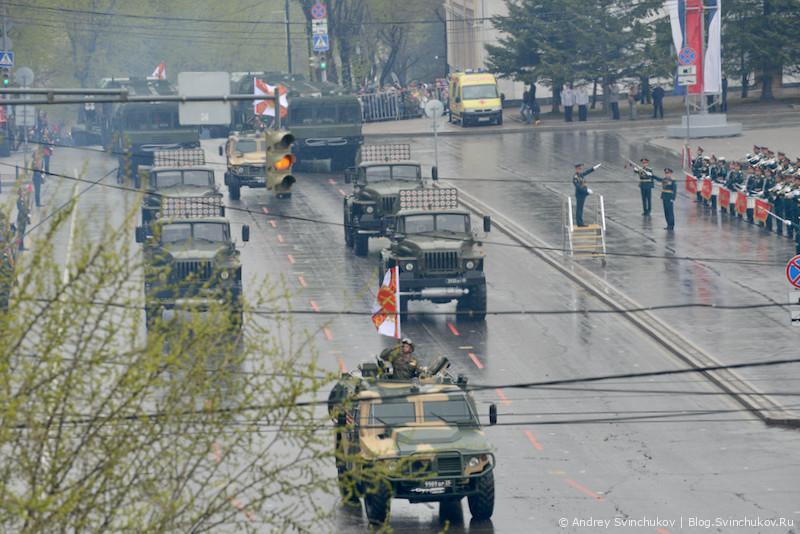 Парад Победы 2021 в Хабаровске